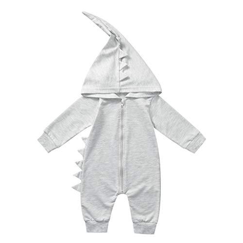 Splrit-MAN Baby Schneeanzüge Overall mit Kapuze Baby Mädchen Jungen Strampler Jumpsuit Hooded Overall Kleidung Outfits -