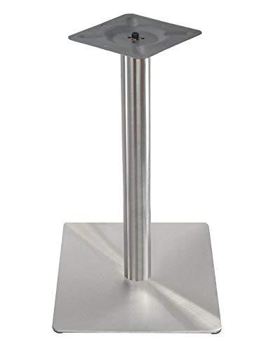 Preisvergleich Produktbild Tischgestell Single Edelstahl Quadratisch 45 x45 cm Untergestell Tischfuß Bistrotisch Bistro Gastro Tisch