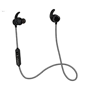 Mobicell Wireless Bluetooth 4.2 Stereo Sports Earphones with Deep Bass with Built-in Mic for Smartphones