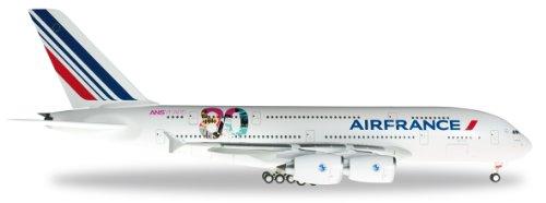 herpa-556248-modellino-air-france-airbus-a380-80-anniversario-colore-bianco