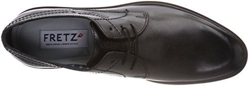 FRETZ men Herren Oskar Derbys Schwarz (Dark Grey 22)