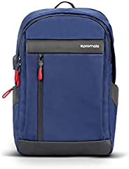 Promate Laptop Backpack, Lightweight Durable 13 Inch Laptop Multi-Storage Pockets Backpack with USB Charging P