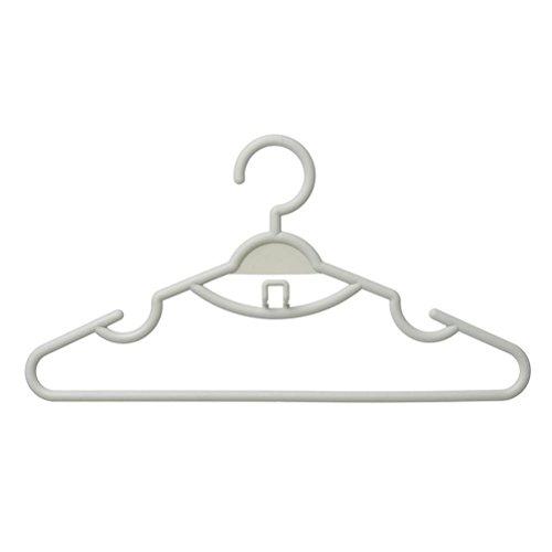 Appendiabiti in plastica asciutto secco ea secco a duplice uso drying home negozio di abbigliamento stendini 40 * 21 cm , b , 20