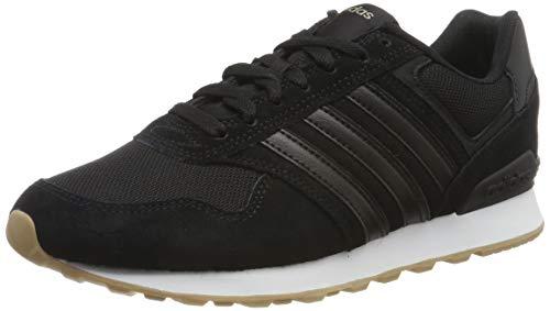 adidas Herren 10K Laufschuhe, Schwarz (Core Black/Core Black/FTWR White Core Black/Core Black/FTWR White), 42 EU