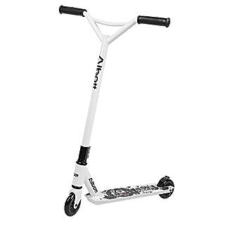 Albott Stunt Roller 360 Grad Y- Typ Lenker Trick Roller Erwachsene Kinder 100 Pu+Pc Rad Garantig