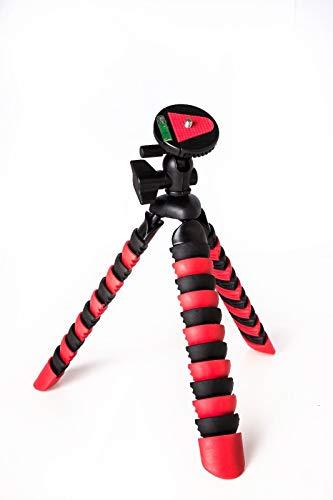 TronicXL Premium Kamerastativ Kamera Stativ Flexibel Dreibein Fotostativ Videostativ kompatibel für Canon EOS 100D 700D 750D 760D 1300 Rebel T7 4000d M50 M100 IFA 2017 1100D 1200D 1300D 6D Mark II