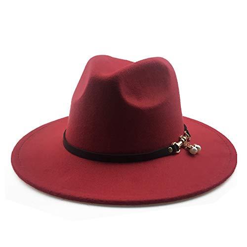 GAOERJI - Sombrero de Lana para Mujer