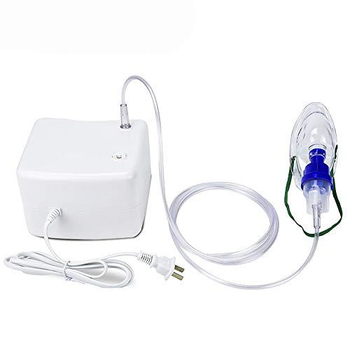Inhalador portátil Inhalador de niebla fría Mini portátil de viaje Humidificador de compresor de vapor con cable USB para adultos y niños