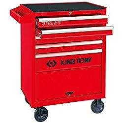 king tony 874325B Servante d'Atelier Pro Kit 5 Tiroirs avec Soute