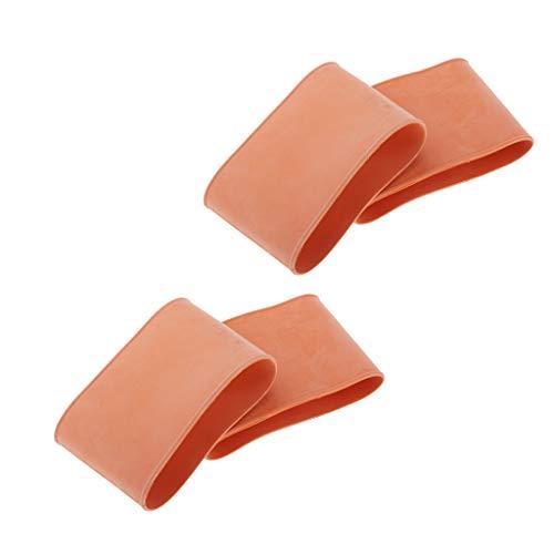 Toygogo 2 Paar Gummi Tauchanzug Wrist Seal Nassanzug Neoprenanzug Ärmel Gummidichtung
