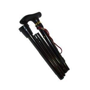 folding-walking-stick-in-black-portable-fully-adjustable-lightweight-aluminium-none-slip-foot-simple