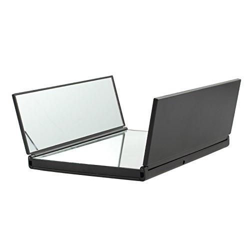 kamtop-espejo-plegable-espejo-con-8-luces-LED-compacto-espejo-de-maquillaje-plegable-con-luces-LED-para-Viajes