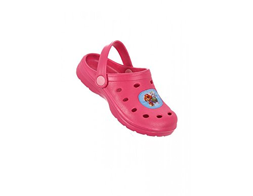 Girls Clogs Sandals in EU 24 To 35 Sizes Paw Patrol (EU 32/33 UK 1/2, Fuschia)
