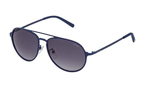 Sting sst00455092e occhiali da sole, blu (azul), 55.0 uomo