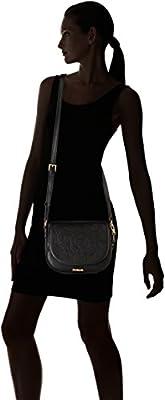 Desigual Bols_ayla Varsovia femme Sacs bandoulière Noir (Negro) 21x6.8x24 cm (B x H x T)