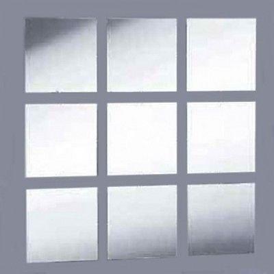 Square Tiles & Mosaic Mirror - Pack of 10 - 2cm x 2cm