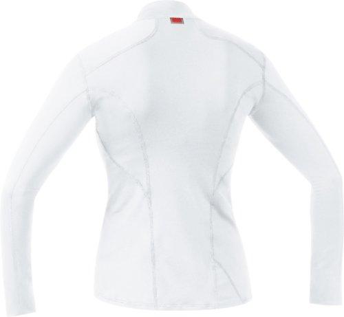 GORE BIKE WEAR, Maglia a collo alto, Intimo Donna, Maniche lunghe, GORE Selected Fabrics, BASE LAYER, UTNSLA Bianco