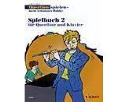 partitions-classique-schott-ambach-c-querflote-spielen-meines-schonstes-hobby-spielbuch-flute-traver