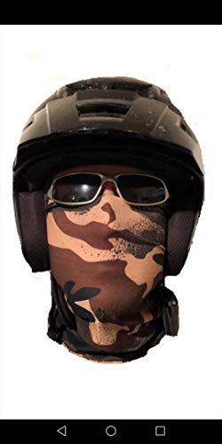 Mehrere Designs Multifunktionstuch Schlauchtuch Schal Maske Kälteschutzmaske Halloween Skifahren Snowboard Angeln Jagen Fahrrad Motorrad Paintball (camo ()