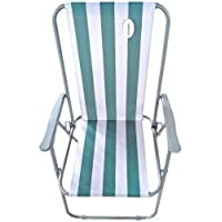 MGI Silla Playa LONETA Plegable 53,5x60x88,5CM - Verde