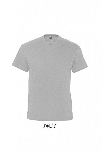 SOLS V-Neck T-Shirt Victory 11150 Grey Melange