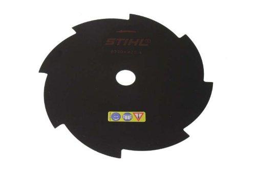 Stihl Genuine 4001 713 3803 230mm 8-Teeth Metal Blade Test