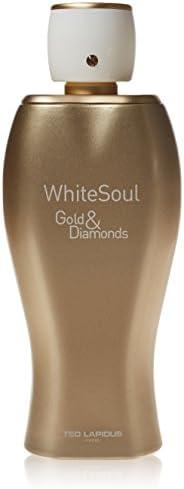 Ted Lapidus Ws Gold & Diamonds For Women - Eau de Parfum, 10