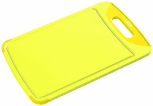 Silit 2142274674 Schneidebrett 38 x 25 cm, gelb