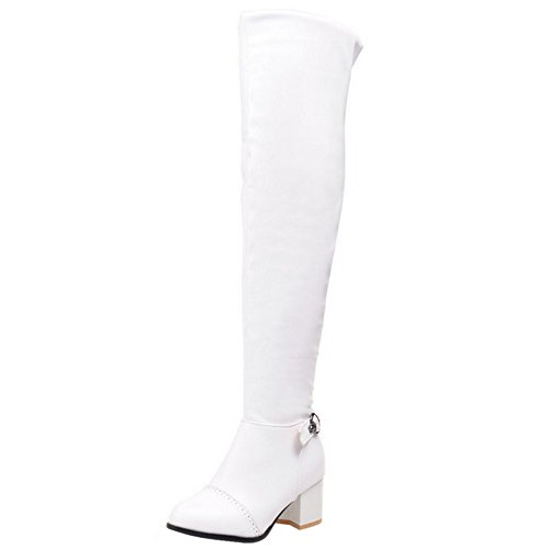 Don Moda Donna Taoffen Stivali White qwt7YaY
