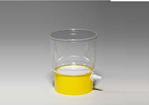 Rocwing - Vakuum Driven steril Flasche oder Top Filter Cup Fast Flow verschiedene Membranen und Poren, 0.22um, Yellow NYLON Cup 500ml (Flaschen Sterile)