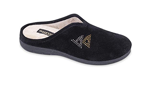 Valleverde pantofola donna  23103 blu