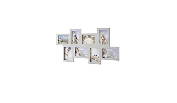 9737dea6d9e5d5 Amazon.de: heine home Unisex Fotogalerie silberfarben H/B/T ca. 36/70/1 cm,  einzeln Halten Sie die