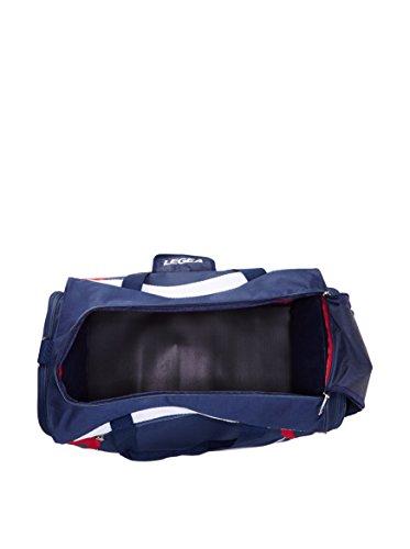 Legea Unisex-Erwachsene Palestra Modena, 60 x 30 x 35cm Marineblau / Rot