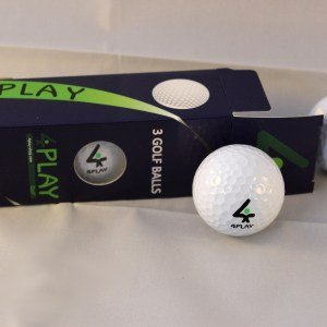 4PLAY standard Distance Balles de golf–édition limitée