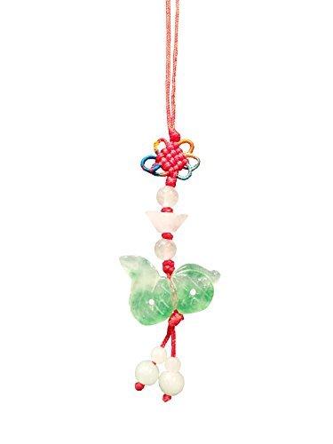 Chines horoscopo Feng Shui: Lucky Jade Tallada a Mano Serpiente Charms, Dinero Talisman telefono Celular Encanto