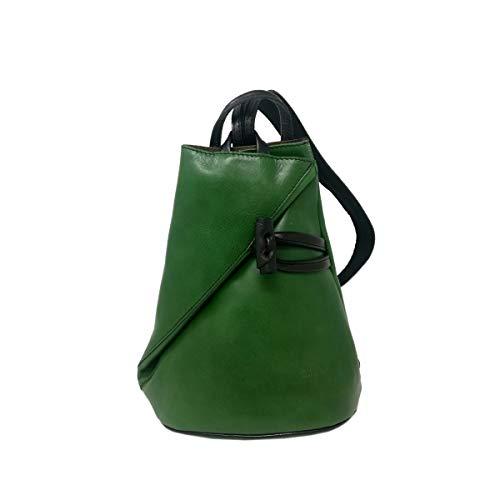 a505ed964 Dream Leather Bags Made in Italy Piel Verdadera Bolso De Espalda En Piel  Verdadera Para Mujer
