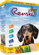 RENSKE FRESH MEAT MENU - CHICKEN - 10 x 395 g