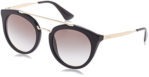 Prada Damen 0PR23SS 1AB0A7 52 Sonnenbrille, Schwarz (Black/Grey)