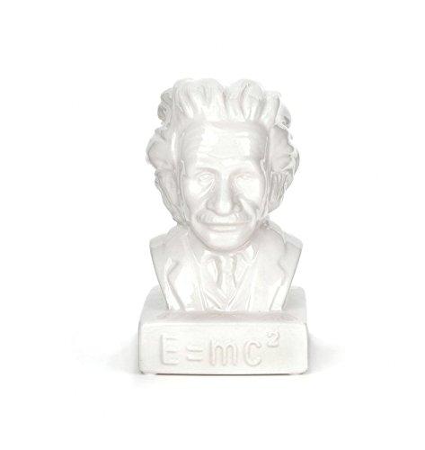 Kikkerland Skull Coin Bank Einstein Mehrfarbig