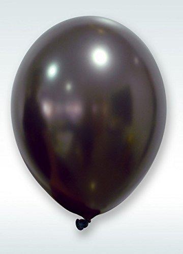 hobi-18-ballons-nacres-30-cm-noir