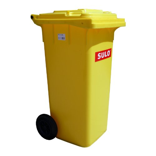 Mülltonne Müllbehälter 120 l gelb