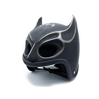 Unbekannt Helm Dekohelm Skull Spaß Fun Totenkopfhelm Skullhead Grußelig (Batman)