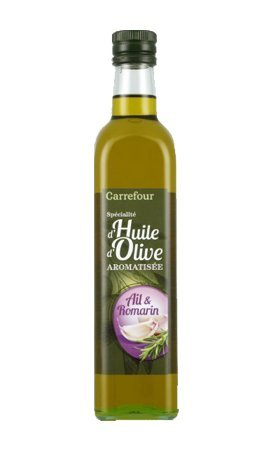 huile-dolive-aromatise-ail-et-romarin-carrefour-olivenol-mit-knoblauch-und-romarin