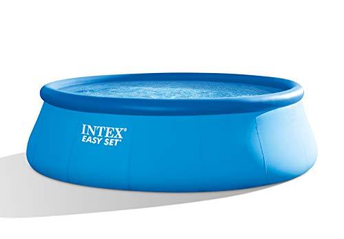Intex Easy Set Pool Set - Aufstellpool - Ø 457 x 122 cm - Zubehör enthalten (Aufblasbare Pool Extra Große)