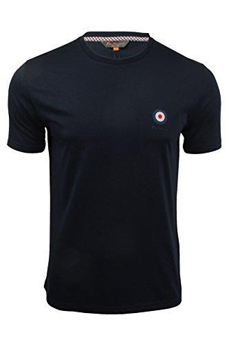 Ben Sherman -  T-shirt - Basic - Maniche corte  - Uomo Navy Blazer X-Large