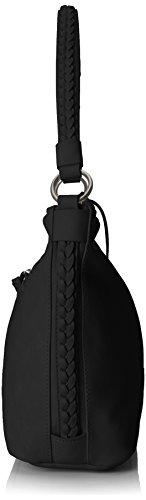 Tamaris - Nadya Hobo Bag S, Borse a spalla Donna Nero (Black)