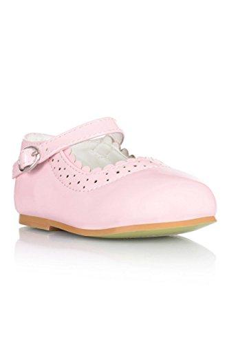 Mädchen Taufe spezielle Gelegenheit Blume Mädchen Patent Harte Sohle Schuhe Gebrauch Rose