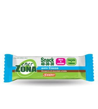 Enerzona snack 40-30-30 - cocco 30 barrette da 27g