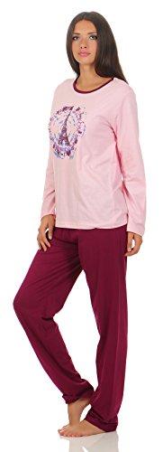 Langer Damen-Pyjama Schlafanzug Nachtwäsche in verschiedenen Modellen