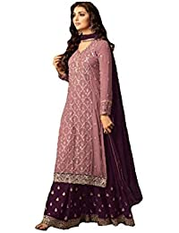 674415c18be3c Amazon.in  Georgette - Salwar Suits   Ethnic Wear  Clothing ...